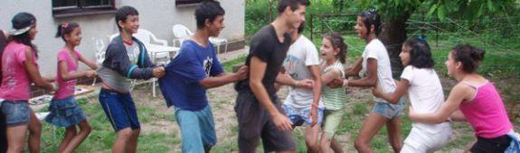 Popoludnie v Detskom domove Nižná Kamenica jún 2013