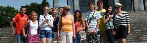 Výlet historickou Bratislavou pre deti z detského domova Modra Harmónia 2013